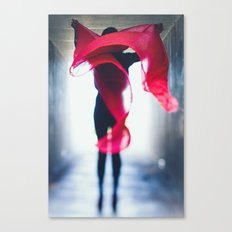 wind-swept Canvas Print