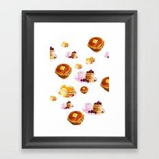 Pancakes! Framed Art Print