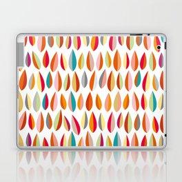 Mid-Century Modern Leaves Pattern Collection 1 Laptop & iPad Skin
