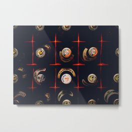 Cool Carate with bottle top Metal Print