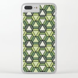 Geometrix 129 Clear iPhone Case