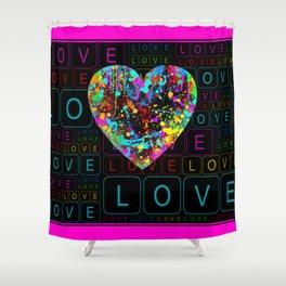 Sweet Valentine ! Shower Curtain