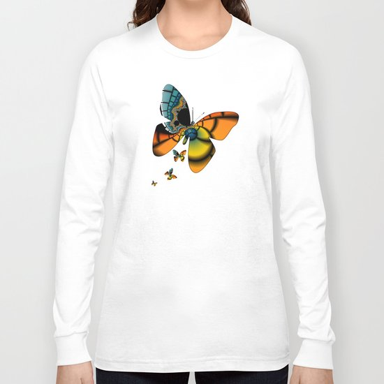 Fractal Cacoon Long Sleeve T-shirt