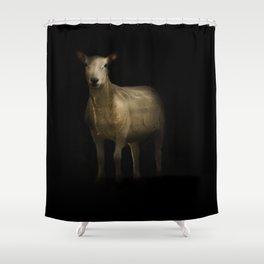 Ewe Portrait Shower Curtain