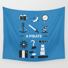 OUAT - A Pirate Wall Tapestry