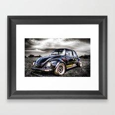 Classic VW Beetle Framed Art Print