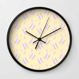 ysabel (lemon) Wall Clock