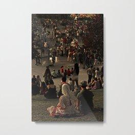Prado de San Isidro Metal Print