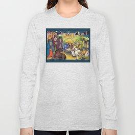 Peace on Earth Nativity Long Sleeve T-shirt