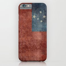 Samoan national flag - Vintage retro version to scale Slim Case iPhone 6s