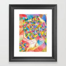 Clusters 3 Framed Art Print