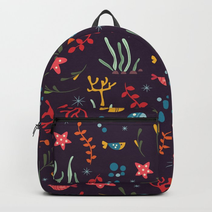 Sea creatures 005 Backpack