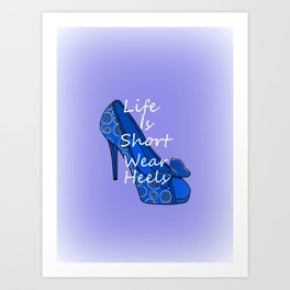 7b783de97a8 High Heels Art Prints | Society6