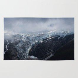 Grindelwald Glacier Rug