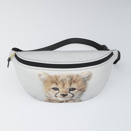 Baby Cheetah - Colorful Fanny Pack