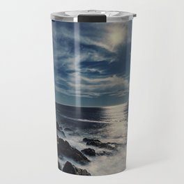 Moonlit Coast Travel Mug