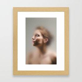 Through The Screen #2 Framed Art Print