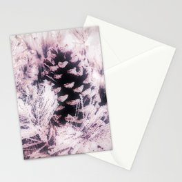 White Pine, Christmas Snowfall Stationery Cards