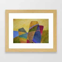 Golden Hills Framed Art Print