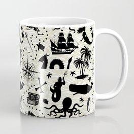 High Seas Adventure // Yellow Waves Coffee Mug
