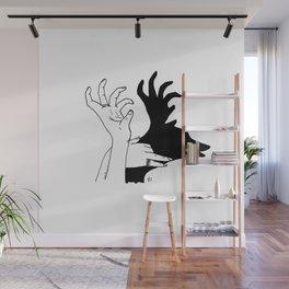 elk shadow Wall Mural