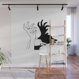 elk shadow Wall Mural