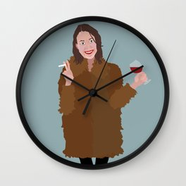Hapy New Year, Be the best version of yourself Wall Clock