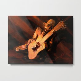 Soloist, UnPlugged Metal Print