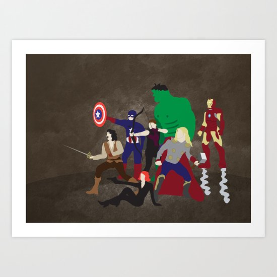 Prepare to Be Avenged Art Print
