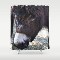 best friend Shower Curtains featuring Best Friend by ABananaPepper