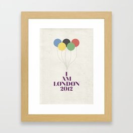 I Am London2012 Framed Art Print