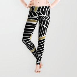 Ab Lines 2 Gold Leggings