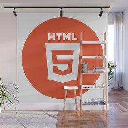 HTML (HTML5) Wall Mural