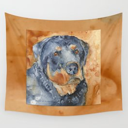 Rotties Rule Wall Tapestry