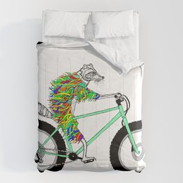 Raccoon Cruiser Comforters