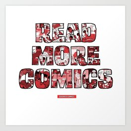 Read More Comics by Colored Comics Art Print