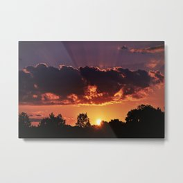 Prisma Sunset Metal Print