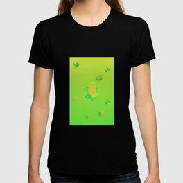 Tree + Tree = Sticks (Leafy Pattern) T-shirt