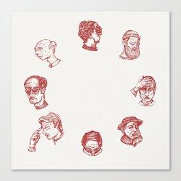 Cry O' Clock Canvas Print