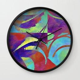 color move II Wall Clock