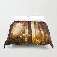 dreams Duvet Covers featuring Dreams by Viviana Gonzalez