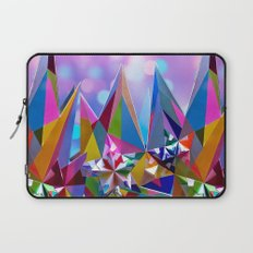 Festive colorful crystals Laptop Sleeve