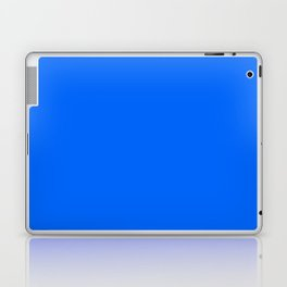 Unfinished ~ Bright Blue Laptop & iPad Skin