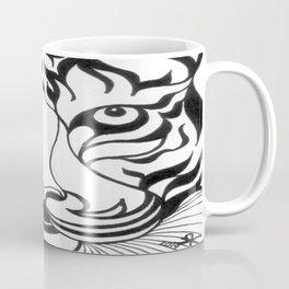 Stylized Tiger Coffee Mug