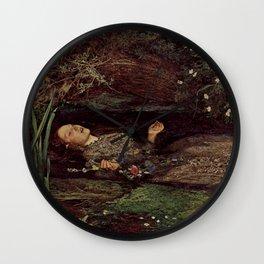 John Everett Millais, Ofelia Wall Clock