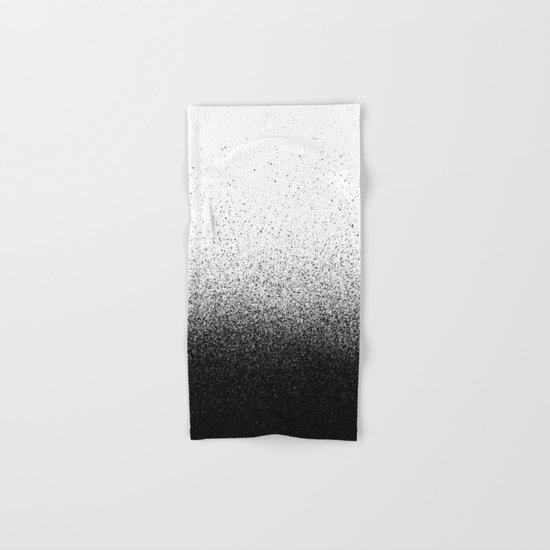 DUST / black Hand & Bath Towel