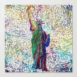 the Liberty Canvas Print