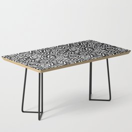 I don't need to improve - Black and white Coffee Table
