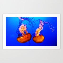 Medusa Times Two Art Print