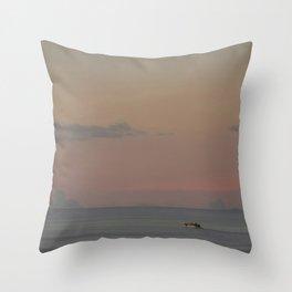 Guada sunset Throw Pillow